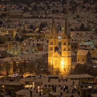St. Adalbero in einer Winternacht