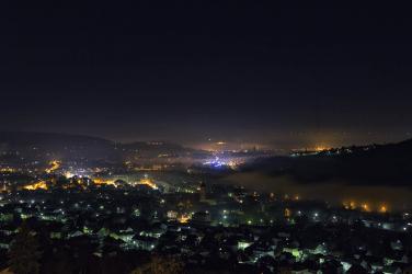 Würzburg im Nebel