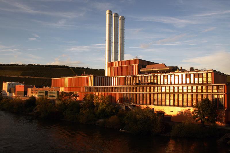 Das vielleicht schönste Heizkraftwerk in Deutschland