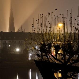 Würzburg im Nebel.