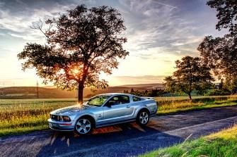 Ford Mustang GT aus dem Jahr 2005 mit 4,7 Liter Hubraum, 305 PS.