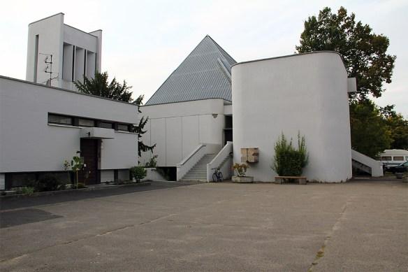 St. Andreas aus dem Jahr 1967 im Stadtteil Sanderau