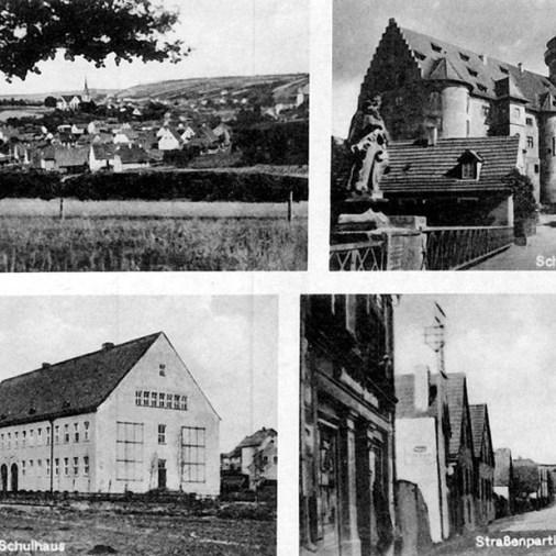 Rimpar Schulhaus 1943