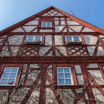 Schönes und gut erhaltenes Fachwerk findet man in dieser Stadt reichlich!