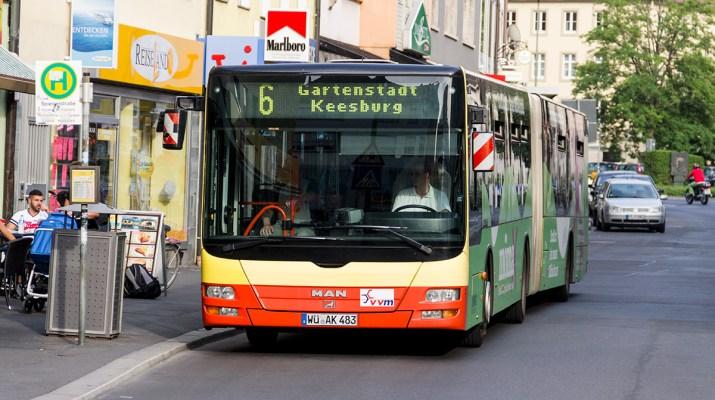 Bus der Linie 6 der WVV / Symbolbild (Foto: wuerzburg24.com)