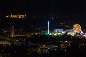 Blick auf die Talavera beim Kiliani-Volksfest 2014 (Foto: www.wuerzburg-fotos.de)