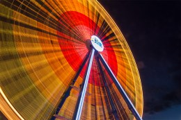 Riesenrad beim Kiliani-Volksfest (Foto: www.wuerzburg-fotos.de)