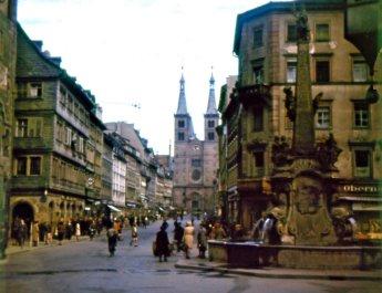 Die Domstraße im Jahr 1943. Das Foto stammt aus der Sammlung von Alexander Kraus.