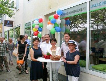 Quartiersbüro Lindleinsmühle eröffnet