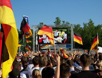 Fußball und Public Viewing