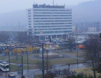 Blitzeis behinderte gesamten Omnibusverkehr