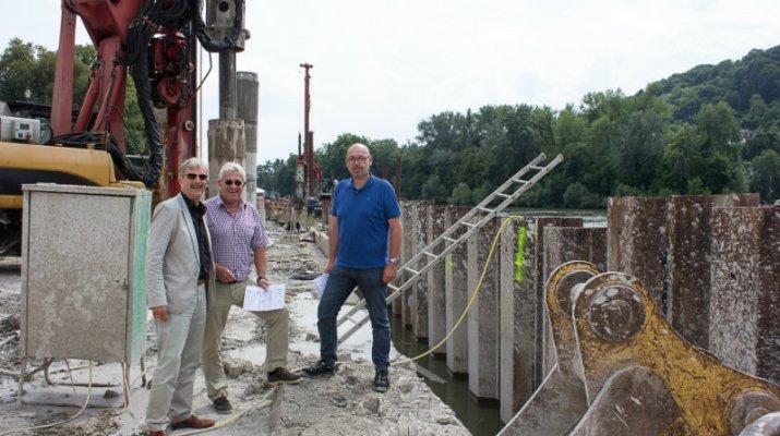 Flaniermeile wird fortgesetzt und die Kaimauer erneuert