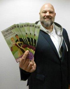 """Wolfgang Weier, Geschäftsführer des Stadtmarketings """"Würzburg macht Spaß"""""""