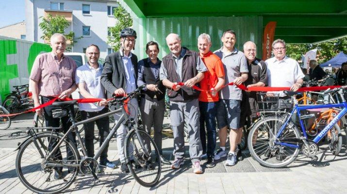 Interkommunales Pedelec- und Radwegenetz mit Mobilstationen eröffnet