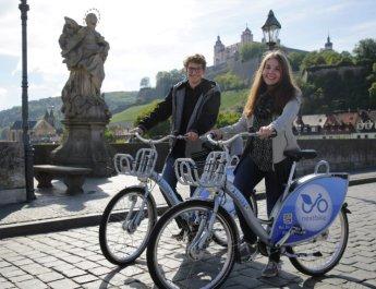 Drei Jahre nextbike in Würzburg