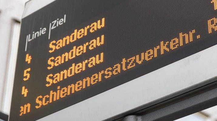 Symbolbild Schienenersatzverkehr