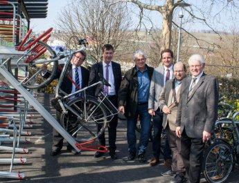 Neue Fahrradgarage Talavera eröffnet