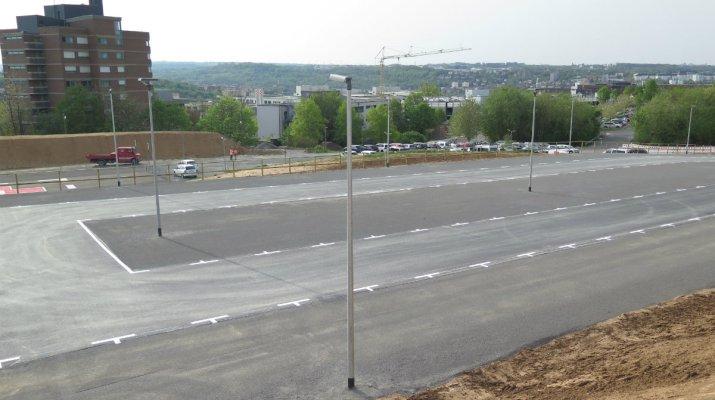 Uniklinikum: 350 neue Parkplätze für Patienten, Besucher und Mitarbeiter