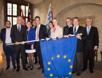 Partner im Zeichen des vereinten Europas
