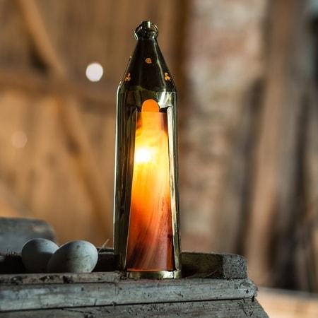 HISTORICAL MEDIEVAL LANTERN candle holder  wulflundcom