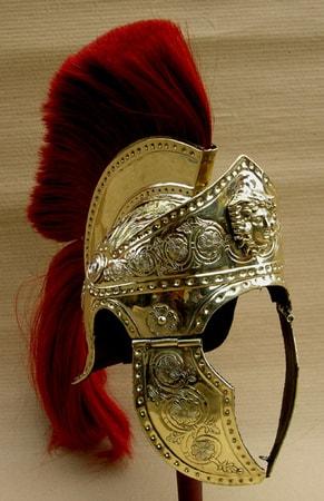 ROMAN SCUTUM shield with thunderbolts  wulflundcom