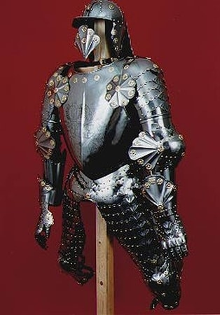 Renaissance Suit Of Armour Etched Armour Custom Made