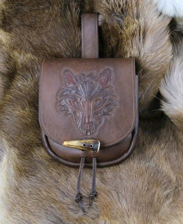 Wolf Leather Bag Brown Wulflund Com