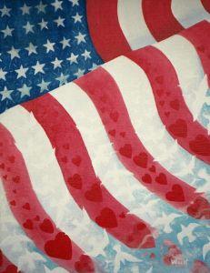 Patriot's Dream - copyright Bernadette Wulf