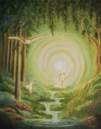 Between the Worlds - Copyright Bernadette Wulf