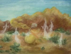 Desert Dragon - copyright Bernadette Wulf