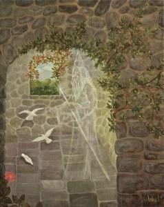Merlin's Tower - copyright Bernadette Wulf