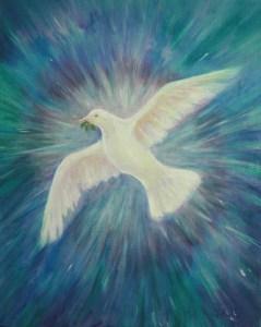 Peace Art - Sophia-Pacem copyright Bernadette Wulf