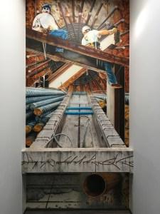 Franz Schmidt Wandmalerei Airbrush