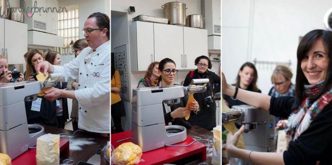 Pastamaking - Wunderbrunnen - Fotografie - Foodblog