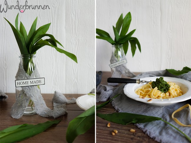 Bärlauch-Pesto - Wunderbrunnen - Foodblog - Fotografie