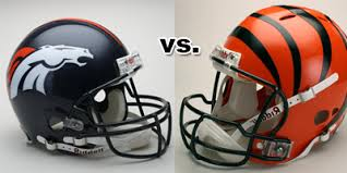 Image result for Denver Broncos vs. Cincinnati Bengals