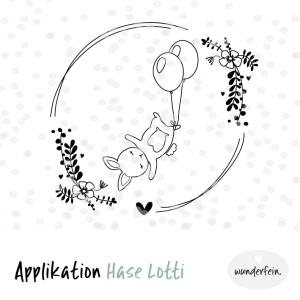 Applikation Datei Vorlage Hase Lotti