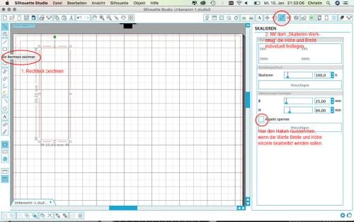 Label aus SnapPap plotten - Label zeichnen