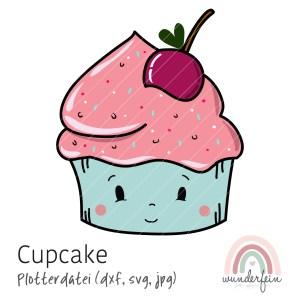 Plotterdatei Cupcake wunderfein