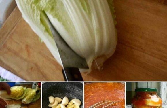 Kimchi – home made