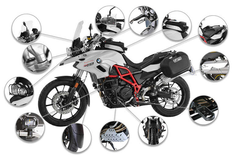 Wunderlich America: Complete Your 2017 BMW F700 GS with