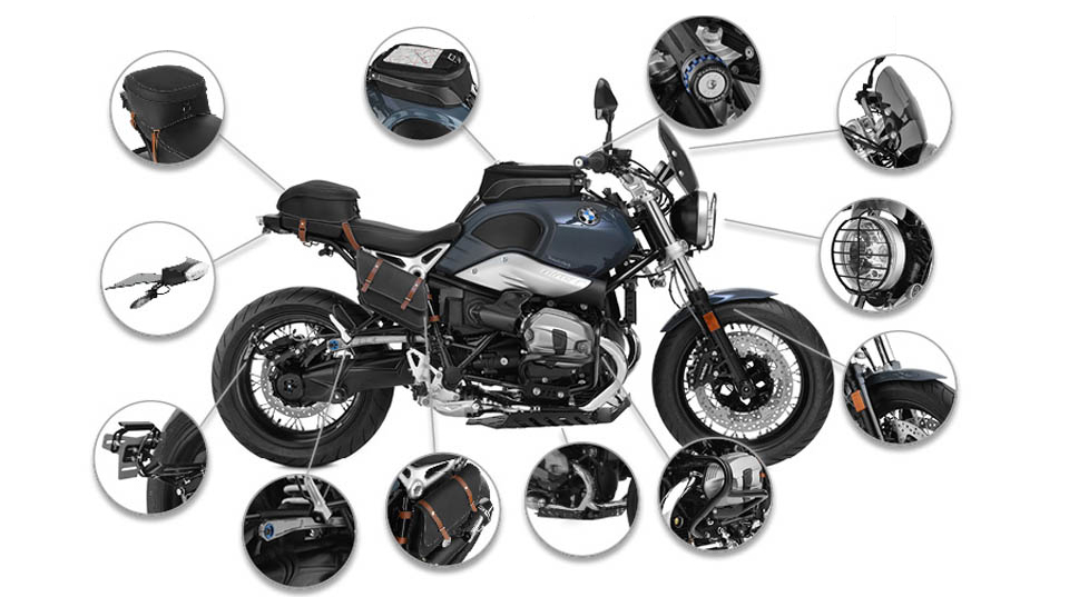 Wunderlich America: Complete Your BMW R nineT Pure with