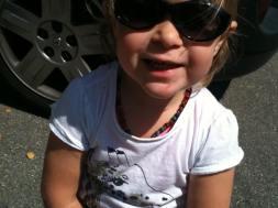 Cecilya im Sommer