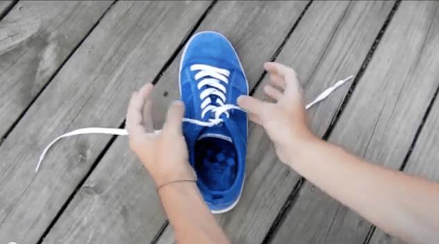 Schnürsenkel, binden, YouTube, Video, Tipp, Anleitung