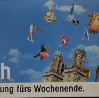Tourismus: Event-Flyer zur Belebung der Hotelbuchungen an Wochenenden