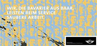 Mobilität: F12 Plakatierung für BMW Vertretung Bavaria AG, Baar