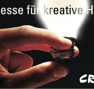 Handel: F12 Plakat für die Ideen-Messe Creaktiv