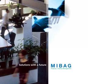 Immobilien: Coverpage des Solution-Angebots der MIBAG