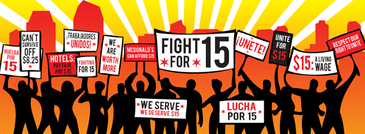 Image result for fight for 15