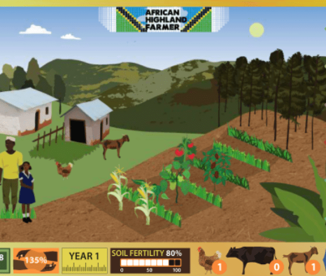 Be An African Farmer In The Game African Highland Farmer